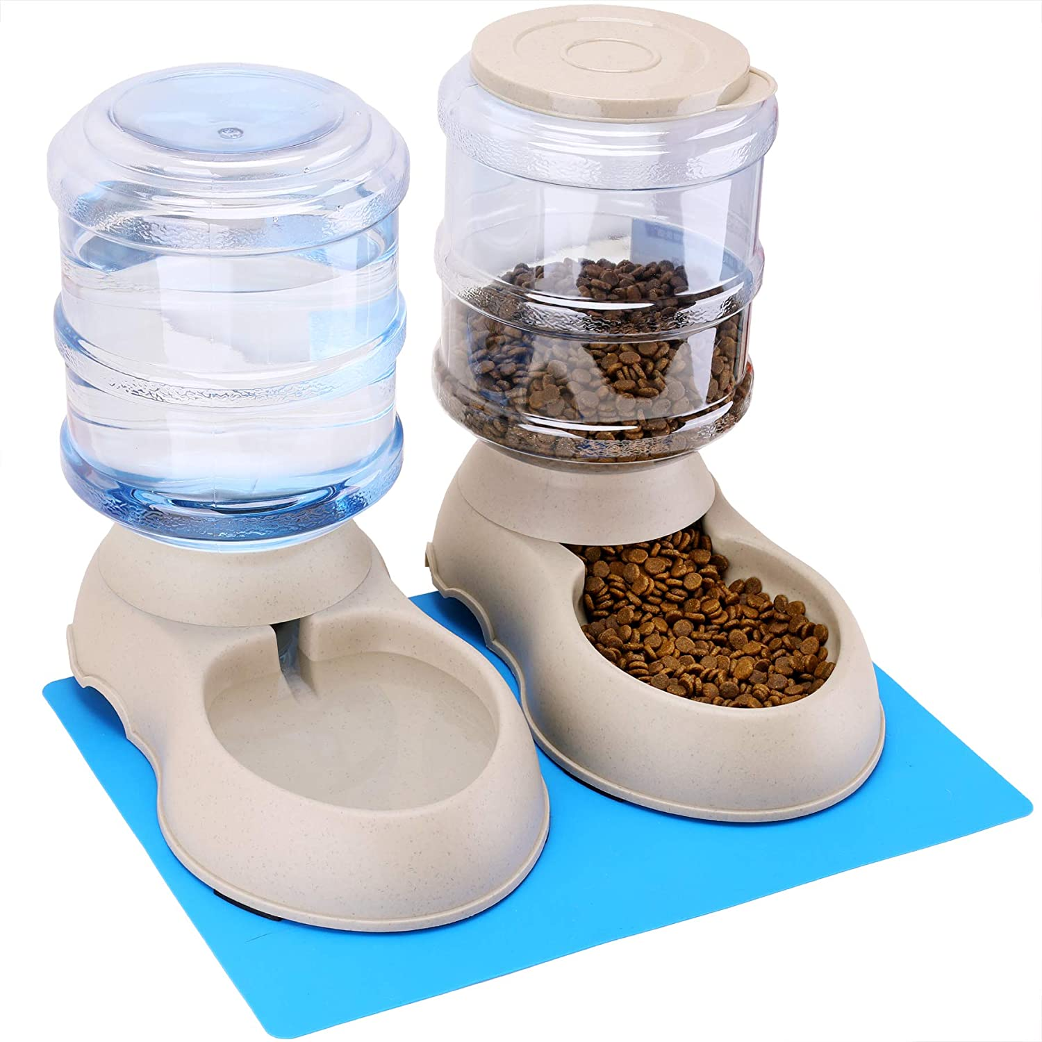 Automatic Cat Feeder And Water Dispenser Spring Valley Goods
